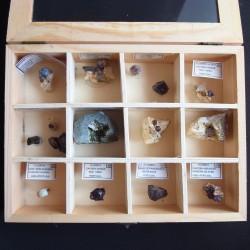 Selección de minerales de Portugal