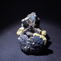 Arsenopyrite et siderite